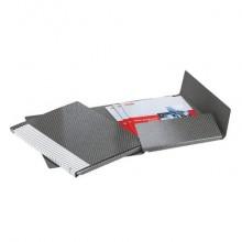 Cartelle a 2 lembi Esselte I57 DELSO LINE 6 / I53 bianco/grigio dorso 3 cm 6 cartelle - 390957040