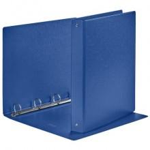 Raccoglitore Esselte DAILY a 4 anelli tondi 30mm robusto cartone rivestito in PP blu 22x30 cm dorso 4 cm - 395692500