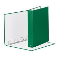 Raccoglitore Esselte MEETING a 4 anelli tondi 30mm cartone rivestito in PP verde 22x30cm dorso 4cm - 395792600