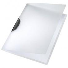 Cartelline di archiviazione con clip max 30 fogli Leitz COLOR CLIP in PPL A4 nero 41750195 (Conf.6)
