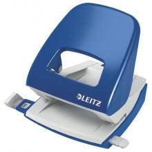 Perforatore 5008 2 fori - 30 fogli Leitz NeXXt Series in metallo blu 50080035