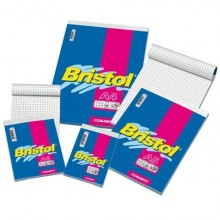 Blocco punto metallico Blasetti BRISTOL copertina patinata 115 gr 50 g/m² Q 5M A5 15X21cm - 1028 (Conf.10)