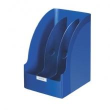 Portariviste ad alta capacità 20,5 cm Leitz PLUS JUMBO in polistirolo A4 blu 52390035