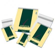 Blocco spiralato Blasetti ARISTON con copertina goffrata 3 colori 60 g/m² 5M A5 15X21cm conf.10/120 - 1087 (Conf.10)