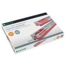 Punti metallici per mod. 5551 K12 fino a 80 fogli Leitz K12 5 cartucce da 210 punti - 55940000