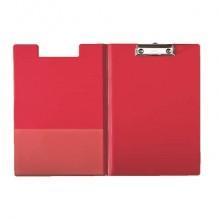 Portablocco con clip Esselte DAILY cartoncino/polipropilene 24,3x34 cm rosso - 56043