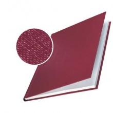 Copertina rigida 10-35 fogli Leitz impressBIND in cartone con dorso da 3,5 mm A4 bordeaux  conf. da 10 - 73900028