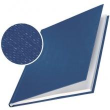 Copertina rigida 36-70 fogli Leitz impressBIND in cartone con dorso da 7 mm A4 blu  conf. da 10 - 73910035