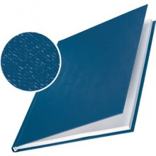 Copertina rigida max 71-105 fogli Leitz impressBIND in cartone con dorso da 10,5 mm A4 blu  conf. da 10 - 73920035