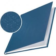 Copertina rigida max 211-245 fogli Leitz impressBIND in cartone con dorso da 24,5 mm A4 blu  conf. da 10 - 73960035