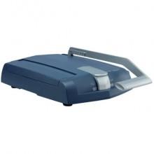 Rilegatrice manuale max 140 fogli Leitz impressBIND 140 blu/grigio metallizzato 74470000