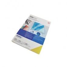 Copertine per rilegatura GBC ColorClean in pvc a4 blu conf da 100 copertine - CE011820E