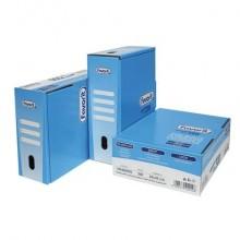 Buste trasp. a foratura universale FAVORIT La500 liscia superior 22x30 cm scatola da 500 - 100460059