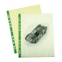 Buste a foratura universale lisce FAVORIT Art Superior 22x30 cm verde conf. da 25 - 100206800