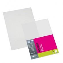 Buste trasparenti a sacco FAVORIT Upocket liscia superior 22x30 cm conf. da 25 - 100460101