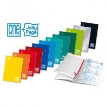 Quaderno Maxi One Color punto metallico 21 ff quadretti 5M A4 - 21x29,7 cm 1411 (Conf.10)