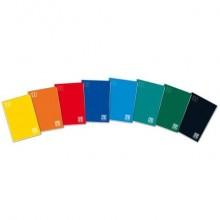 Quaderno Maxi One Color punto metallico copertina colori assortiti - 21 ff 100 g/m² A4 - quadr. 5 mm - 1924 (Conf.10)