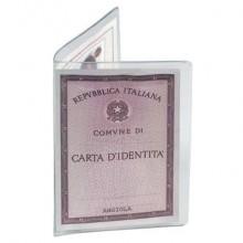 Custodia porta carta d'identità FAVORIT 16x11,5 cm trasparente conf. da 50 - 100500073