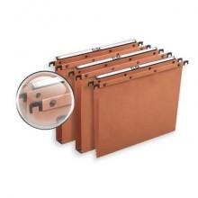 Cartelle sospese per cassetto ELBA Ultimate interasse 39 cm arancione fondo V Conf. 25 pezzi 100330312