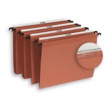 Cartelle sospese per cassetto ELBA Defi interasse 39 cm arancione fondo V Conf. 25 pezzi  400126811
