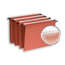 Cartelle sospese per cassetto ELBA Defi interasse 39 cm arancione fondo U3 Conf. 25 pezzi  400126812