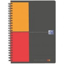 Quaderno spiralato OXFORD International Addressbook A5 grigio 100103165