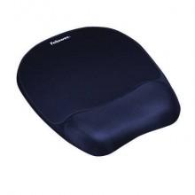 Tappetino mouse con poggiapolsi FELLOWES Memory Foam - Zaffiro blu 9172801