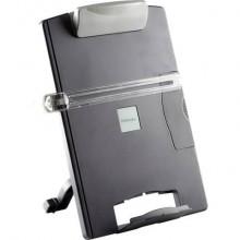 Leggio FELLOWES desktop standard plastica grafite capacità 100 fogli 9169701