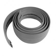 Raccogli cavi piatto in gomma Viso 3000x66x15 grigio CPB653