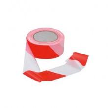 Nastro delimitatore Viso 50 mm x 100 m bianco/rosso RSNA121RB