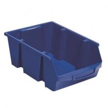 Scomparto di stoccaggio in PPL 28 L Viso 300x455x175 mm blu SPACY5B