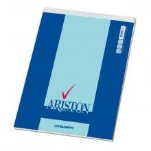 Blocco con punto metallico Blasetti Ariston 70 ff righe 1R A4 - 21x29,7 mm 1070 (Conf.10)