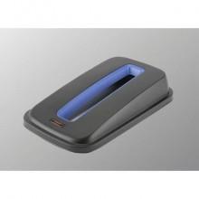 Coperchio per contenitori Geo - carta Vileda Professional in PPL nero/blu 137731