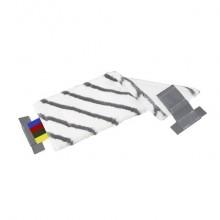 Mop di ricambio MicroSpeed Plus Vileda Professional 40 cm bianco/grigio 143222