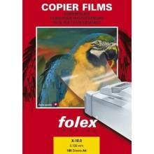 Film per fotocopiatrici monocrom. Folex X-10.0 poliestere traslucido opaco 0,1 mm A3  Conf. 50 pz. - 39100.100.43100