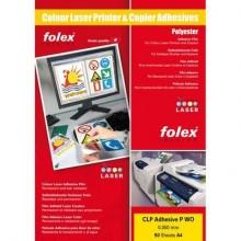 Film adesivo per stampanti laser e copiatrici Folex CLP Adhesive P WO 0,05 mm A3  Conf. 50 pz - 2999W.050.43100