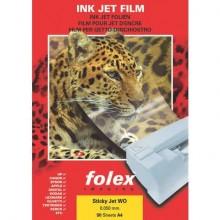 Film adesivo per stampanti inkjet Folex Sticky Jet WO trasparente 0,05 mm A4 Conf. 50 pezzi - 2939W.050.44100