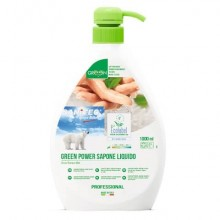 Detergente liquido mani, viso e corpo SANITEC Green Power 1000 ml 4015