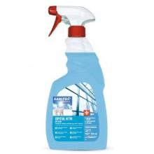 Detergente multiuso per vetri e specchi SANITEC Crystal 750 ml 1866-S