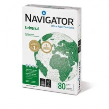 Carta per fotocopie A4 Navigator Universal 80 g/m² Risma da 500 fogli - NUN0800652 (Conf.5)