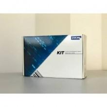 Kit 1476 etichette + 2 ribbon - 100x100 mm ETIFORM in carta vellum Etichette bianche - K100X100X050R2