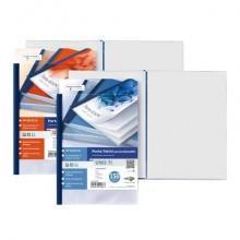 Portalistini in PP Sei Rota Uno TI - PP buccia - 48 buste A4 blu 55224807