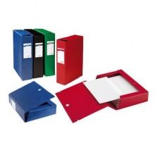 Cartella portaprogetti Sei Rota Scatto - dorso 8 cm. rosso 67900812