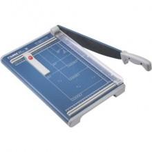 Taglierina a leva Dahle con pressino manuale max 15 fogli - luce 330-1,5 mm blu  R000533
