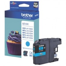 Cartuccia inkjet LC-123 Brother ciano  LC-123C