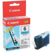 Serbatoio inchiostro BCI-6 PC PHOTO Canon ciano foto 4709A002